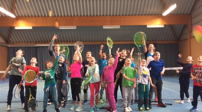 Formation Kidstennis journée d'application TC Troisvierge7