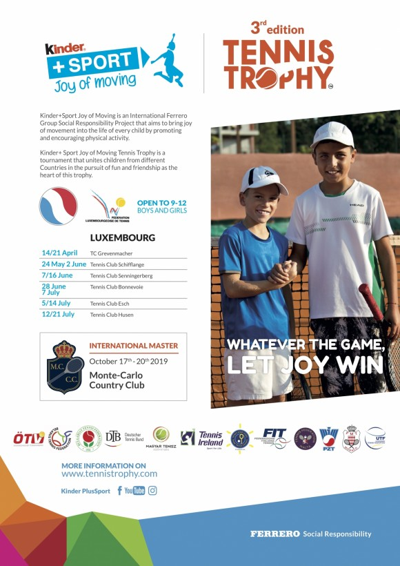 Kinder+Sport TennisTrophy LUXEMBOURG 2019