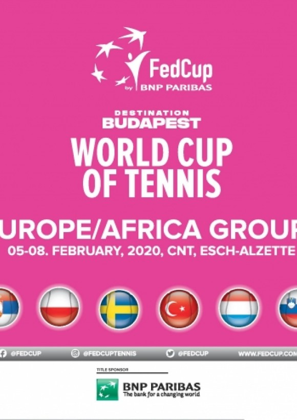 Fed Cup 2020 - Banner
