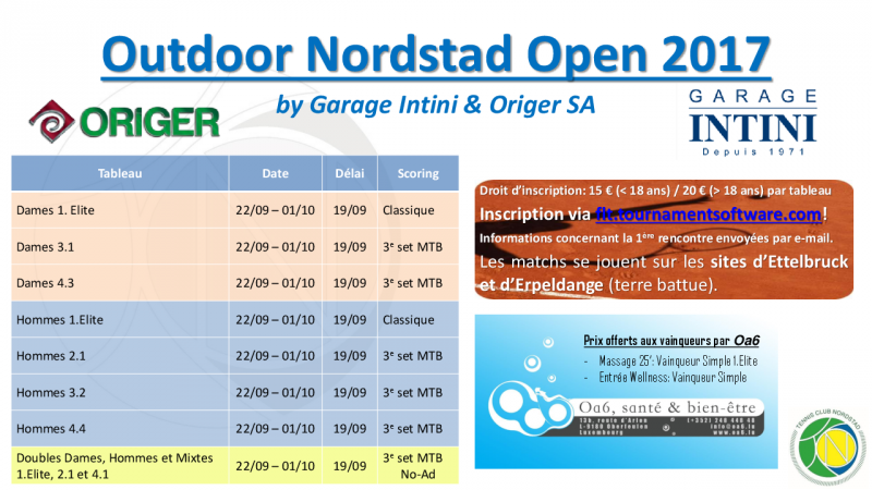 Affiche - Outdoor Nordstad Open 2017